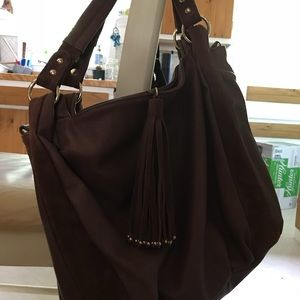 Handbags - Vegan tote with two ways of carrying